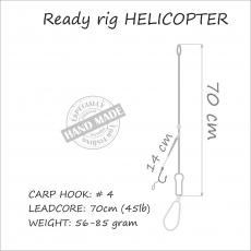 Carp Rig Helicopter 85 gr