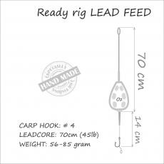 Carp Rig Lead Feed 71 gr