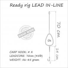 Carp Rig Inline 71 gr