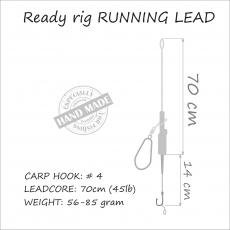 Carp Rig Running Rig 56 gr