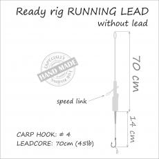 Carp Rig Running Rig ohne Blei